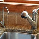 Brushed Nickel RO water treatment Faucet, New Hope, PA